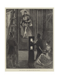 Modern Ghost-Raising, a Sketch Behind the Scenes at the Polytechnic Giclee Print by William Bazett Murray
