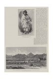 Anglo-Indian Force Attacked on the Afghan Frontier Giclee Print by William 'Crimea' Simpson