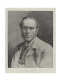 The Late Mr James Payn Giclee Print by William Biscombe Gardner