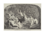 Diana Surprised by Actaeon Giclee Print by William Edward Frost