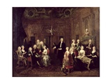 The Wollaston Family, 1730 Giclee Print by William Hogarth