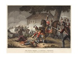 The Horse (Life) Guards at the Battle of Waterloo Giclee Print by William Heath