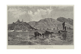 Chefoo, the Principal Chinese Port on the Yellow Sea Giclee Print by William 'Crimea' Simpson