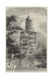 Akalis Tower at Umritzir Giclee Print by William Carpenter