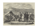 Camp Bazaar, Meerunzaie, Western Affghanistan Giclee Print by William Carpenter