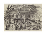 Banquet at the Hotel Du Gouvernement Giclee Print by William Carpenter