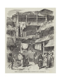 Street in Sirinagur, Cashmere Giclee Print by William Carpenter