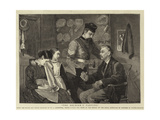 The Soldier's Parting Giclee Print by William Carpenter