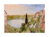 Lake Nemi, 1862 Giclee Print by William Bell Scott