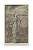 The Pearl, the English Poem of the 14th Century Giclee Print by William Holman Hunt