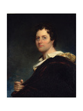 George Gordon, 6th Lord Byron of Rochdale (1788-1824), 1822 Giclee Print by William Edward West