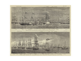 The Naval Review at Spithead Wydruk giclee autor William Edward Atkins