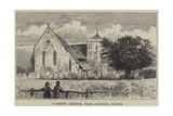 Climping Church, Near Arundel, Sussex Giclee Print by William Henry James Boot