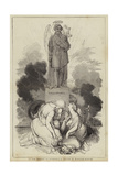 To the Memory of O'Connell, a Design by William Harvey Giclee Print by William James Linton