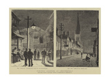 Electric Lighting at Chesterfield Giclee Print by William Henry James Boot