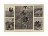 The Balloon Contest, Sketches from Number Two Giclee Print by William Lionel Wyllie
