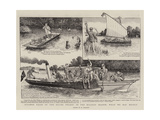 Strange Tales of the Silver Thames in the Holiday Season, What We May Expect Gicléedruk van William Ralston
