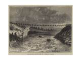 Remarkable Destruction of a Railway Bridge Giclee Print by William Henry James Boot