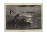 A Castaway Giclee Print by William James Linton