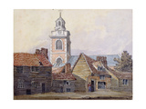 View of Christchurch, 1810 Giclee Print by William Pearson