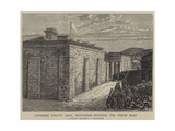 Anglesey County Gaol, Beaumaris, Hosting the White Flag Giclee Print by William Henry James Boot