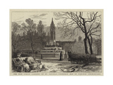 The New Public Gardens of St Pancras, Formerly Old St Pancras' Churchyard Giclee Print by William Henry James Boot