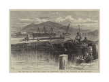 The Civil War in Spain, the Harbour of Carthagena, Now in the Possession of the Insurgents Giclee Print by William Henry James Boot