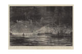 The Naval Review at Spithead before the Prince of Wales in Honour of the Queen's Diamond Jubilee Giclee Print by William Lionel Wyllie