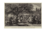 An English Merry-Making, a Hundred Years Ago Giclee Print by William Powell Frith