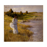 An Afternoon Stroll, C.1890-95 Giclee Print by William Merritt Chase