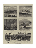 The Ashantee War, Sketches at Elmina and Coomassie Giclee Print by William Henry James Boot