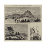 Military Manoeuvres in Bermuda Giclee Print by William Henry James Boot