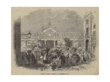 Covent Garden Market on Christmas Eve Giclee Print by William Henry Pike