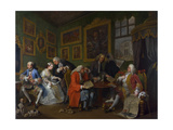 Marriage a La Mode: I - the Marriage Settlement, C.1743 Giclee Print by William Hogarth