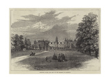 Hatfield House, the Seat of the Marquis of Salisbury Giclee Print by William Henry Pike