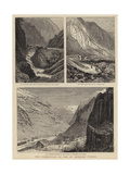 The Completion of the St Gothard Tunnel Giclee Print by William Henry James Boot