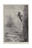 Starting for the Naval Manoeuvres Giclee Print by William Lionel Wyllie