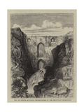 The Old Bridge of Ronda, Headquarters of the Andalusian Federalists Giclee Print by William Henry James Boot