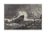 The Surf-Boat at Port Elizabeth, Algoa Bay Giclee Print by William James Linton