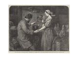 The Last Trial of Madame Palissy Giclee Print by William James Grant