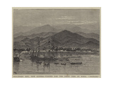 Discovery Bay, New Guinea, Visited for the First Time by HMS Basilisk Giclee Print by William Henry James Boot