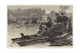 Royal Pic-Nic at Virginia Water Giclee Print by William Heysham Overend