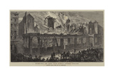 Burning of the Old Paris Opera House Giclee Print by William Henry James Boot