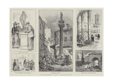 Sketches in Florence Giclee Print by William Henry Pike
