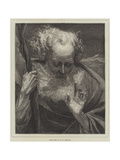 King Lear Giclee Print by William Holyoake