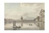A View at Lucerne Giclée-tryk af William Pars