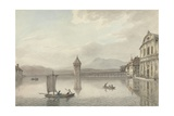 A View at Lucerne Giclee Print by William Pars