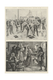 The Collieries Strike Giclee Print by William Heysham Overend