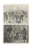 The Collieries Strike Giclee Print by William Heysham Overend