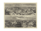 A Panorama of Chicago, from the Top of the City Hall Giclee Print by William Henry James Boot